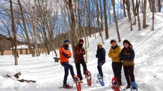 【日光・那須】大沼スノートレッキング&エアボードツアー1日コース