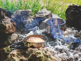 ワイルドで美味しい焚き火料理体験プラン