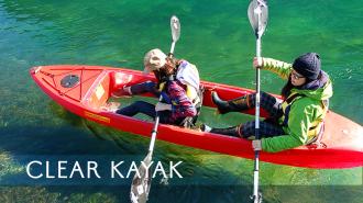 【北海道・支笏湖】11年連続日本1位の水質を誇る湖でクリアカヤックツアー!!