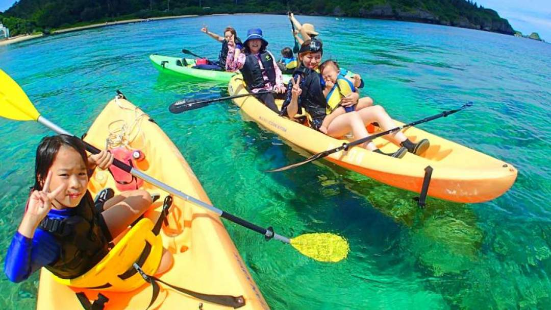 エメラルドグリーンの海を大冒険♪