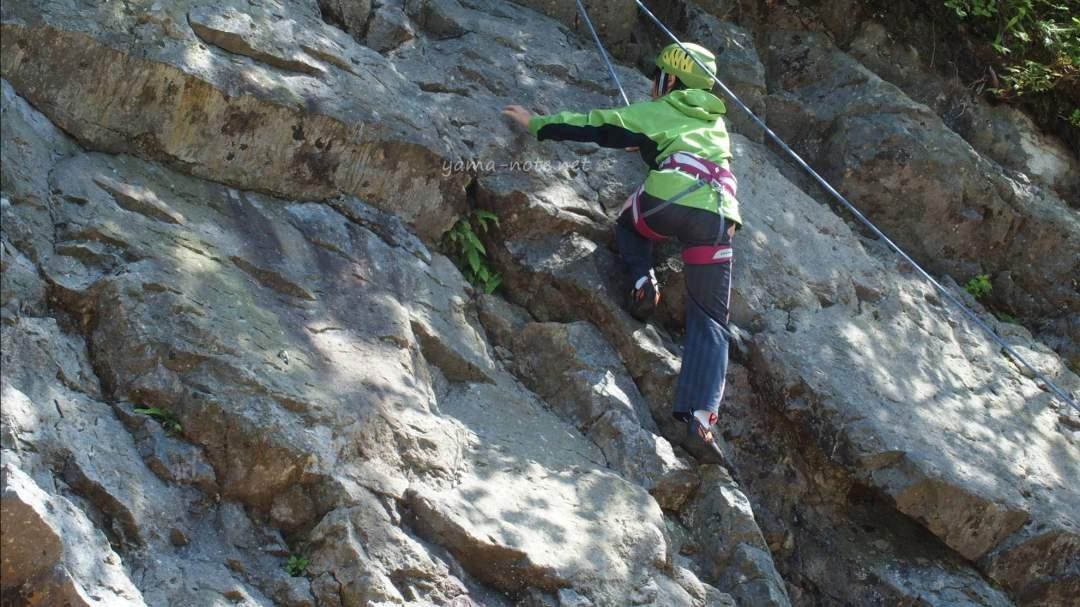 登りきった時の達成感は格別!