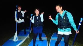 【沖縄・宮古島】【夜】気分は大冒険!選べる星空ナイトSUP/カヌー【写真データ無料】