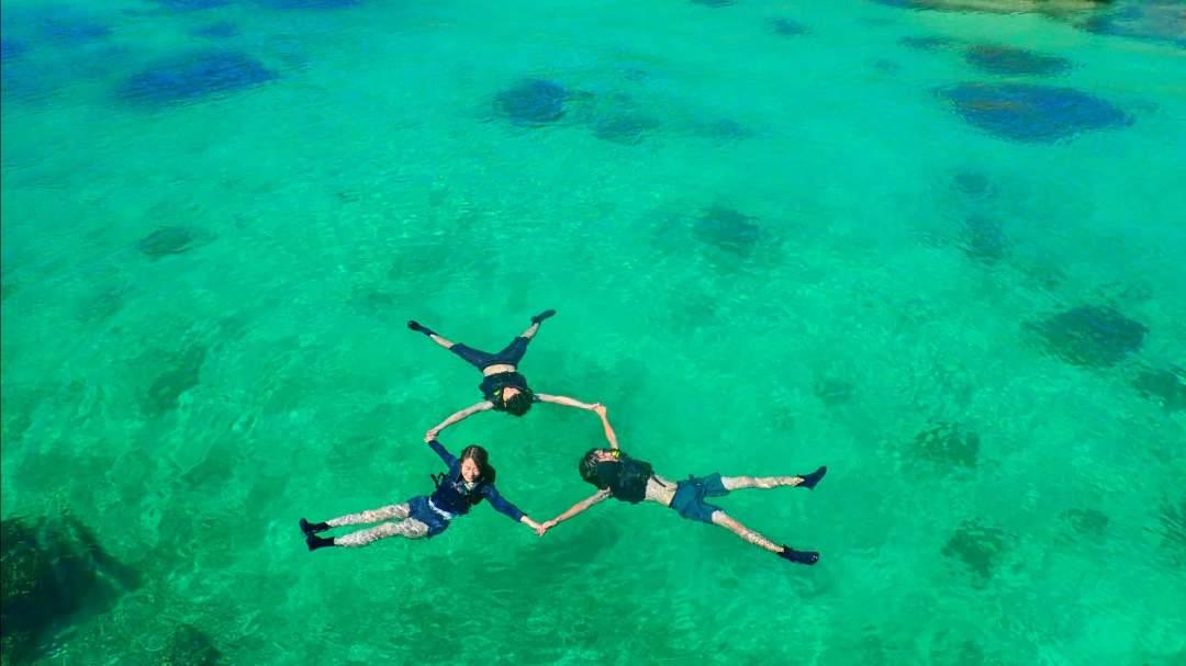 宮古島の海で遊ぶ1日プラン! 宮古島の美しい海でSUPorカヌー体験(選択可)&シュノーケリング体験!  どちらのアクティビティも経験不問!ガイドがサポートいたしますのでお気軽にご参加を!