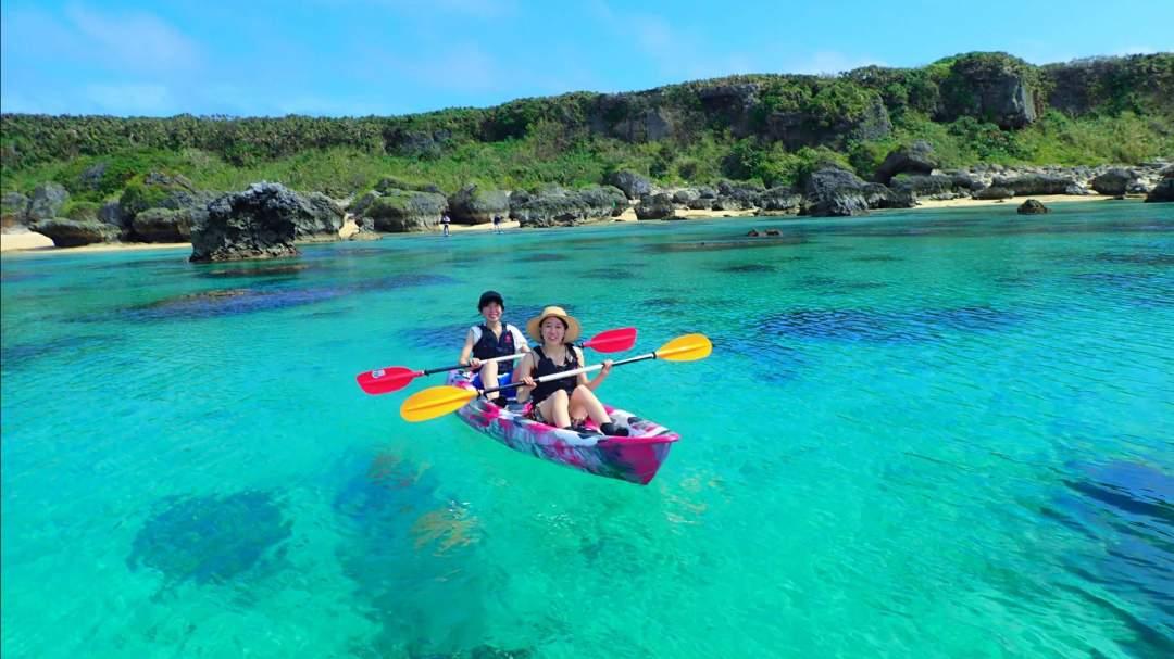 宮古ブルーでクルージング! 宮古島の美しい海でSUPorカヌー体験(選択可)!  どちらのアクティビティも経験不問!ガイドがサポートいたしますのでお気軽にご参加を!
