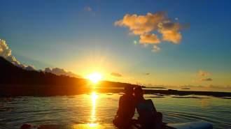 【沖縄・西表島】【早朝】朝日を浴びて最高の一日のスタート!選べるサンライズSUPorカヌー