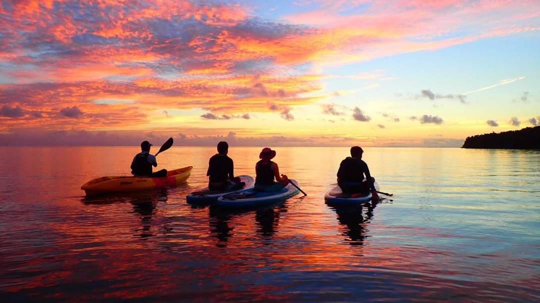 カヌーで爽やか早朝ツアー! 西表島の爽やかな朝を人気のアクティビティで満喫していただきます!経験不問!ガイドがサポートいたしますのでお気軽にご参加を!