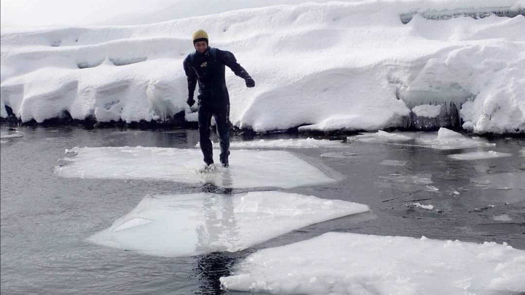 氷のサスケをクリアしてみよう
