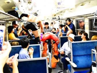 第3回 只見線列車内プロレス!