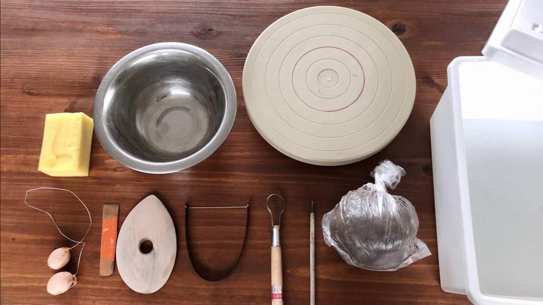 陶芸道具一式、お貸出しいたします!
