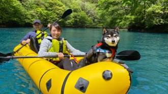 【群馬・四万温泉】関東屈指の透明度「四万湖」でパックラフト半日ツアー!!