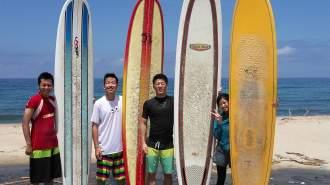親切丁寧がモットーの優しいサーフィン体験スクール