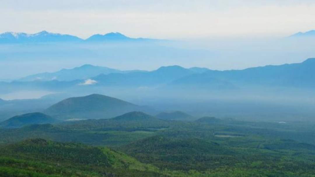 ★遠く南アルプスの山々を見晴らすことができます。