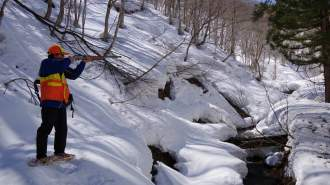 冬の雪山散策! 狩猟体験ツアー!