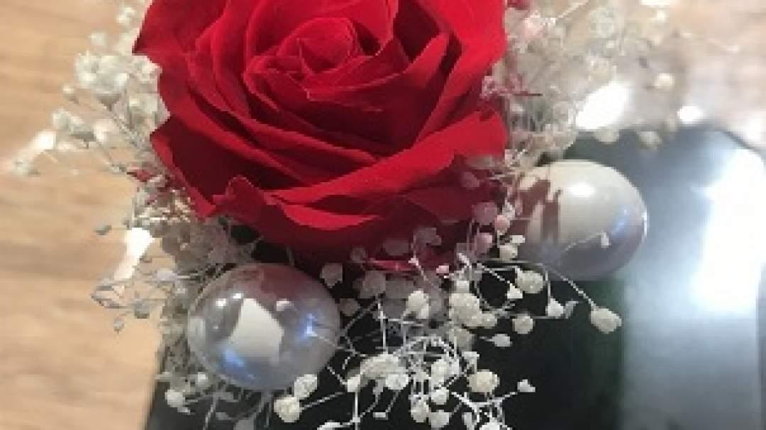 フェルトとお花