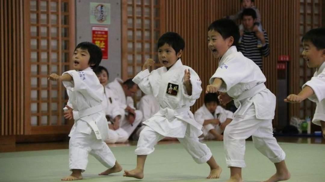 3歳~6歳までのKids教室も行っています。
