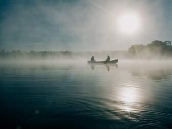 【桧原湖カヌー体験】朝の時間を有効活用!早朝体験コース!