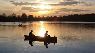 【桧原湖カヌー体験】湖上で夕涼み!夕方体験コース!
