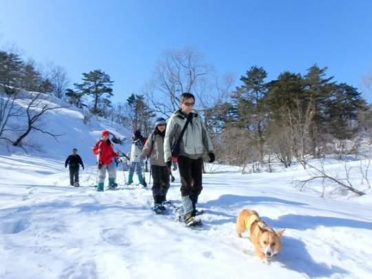 【裏磐梯 スノーシュー体験】 雪遊び午前・午後の半日コース!
