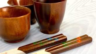 蒔絵師に学ぶ日本の伝統工芸〜【お箸・ぐい呑み】本漆を使った本格蒔絵体験♪〜