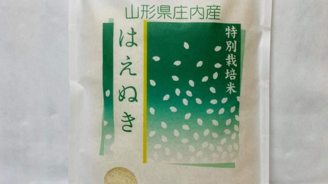 和紙風の袋に詰めてお届けします。