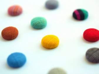 会津木綿のまんまるイヤリング --coron--【全16色】